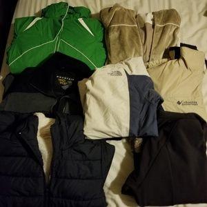 6 winter jacket (northface sold)